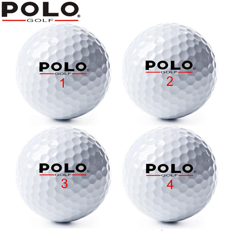 Authentic polo golf ball three new special ball game ball practice balls distance used non