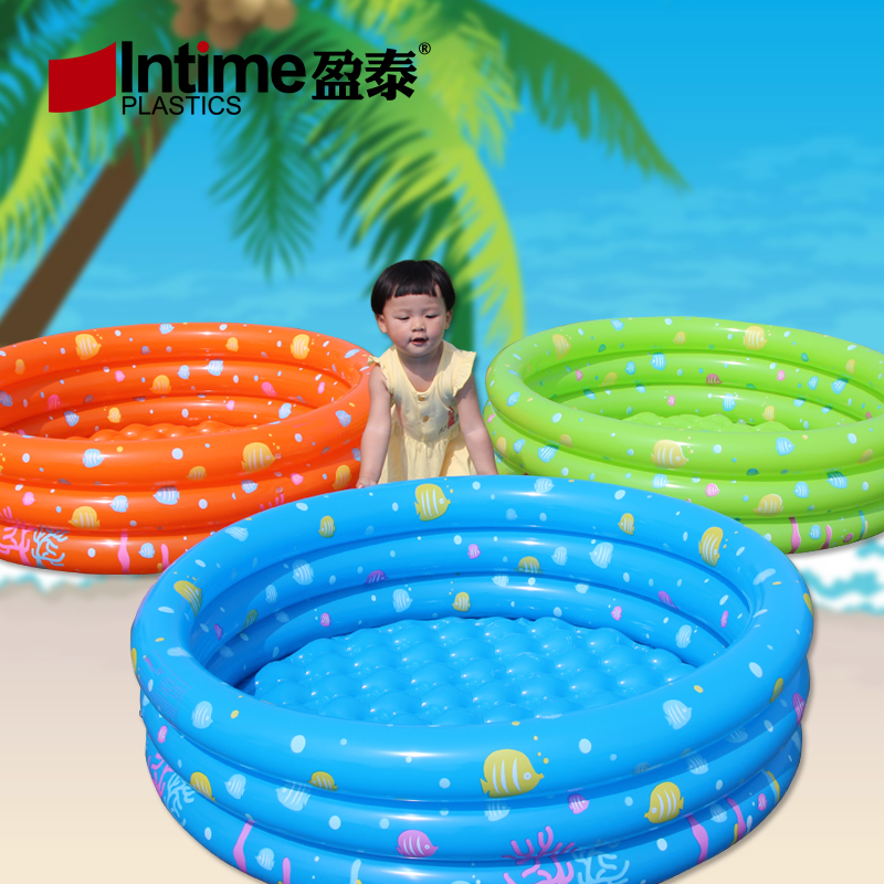 Authentic thai surplus pool fishing pond for children round inflatable baby pool ocean ball pool swimming toys