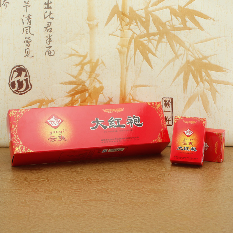 Authentic wuyi da hong pao tea cloud razed smoke strip gift box wuyishan specialty auction