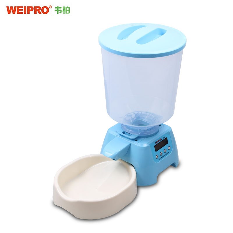 Automatic pet feeder automatic feeding machine time quantitative for small and medium dogs and cats dogs and cats generic shipping promotion