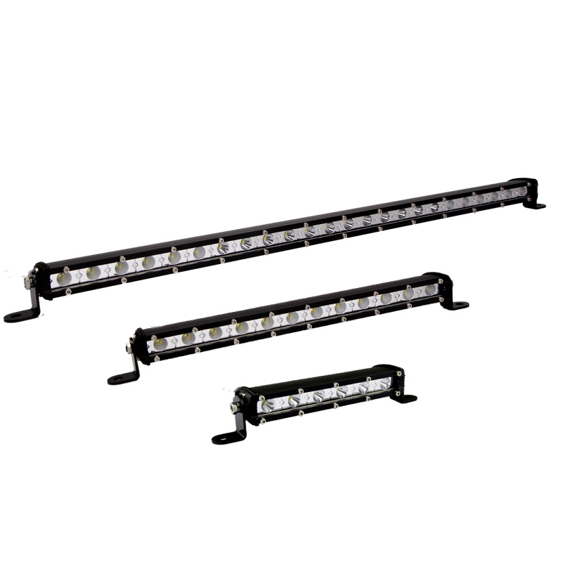 Automotive led super bright spotlights thin import modified car spotlights spotlights suv suv roof led strip spotlights