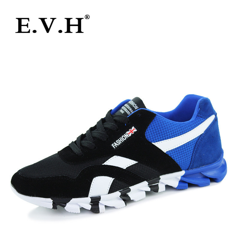 Autumn 2016 new breathable mesh shoes evh shirtwaist everyday casual men's sports shoes low shoes wild 5401