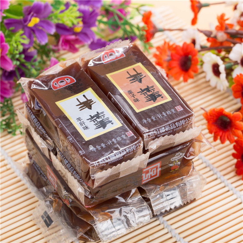 Autumn and promote the old beijing specialty food venosa jelly g goat soup chestnut soup traditional cakes zero food
