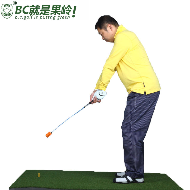 B. c. golf golf swing practice golf swing trainer practice rods rod soft posture correction