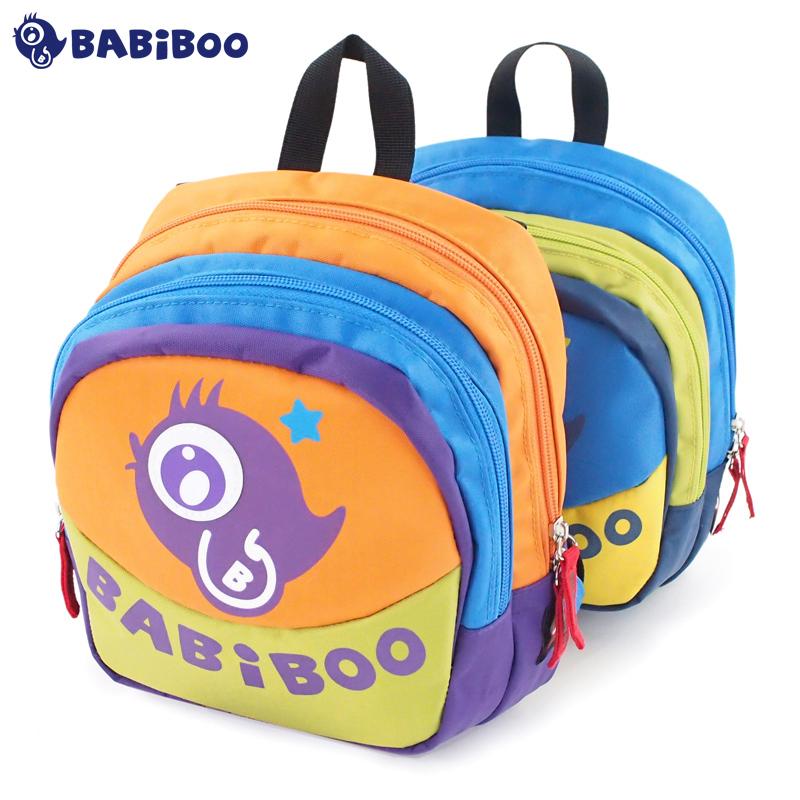 6382d041d48f Get Quotations · Babiboo children preschool backpack bag kindergarten boys  and girls schoolbag korean version of the baby out