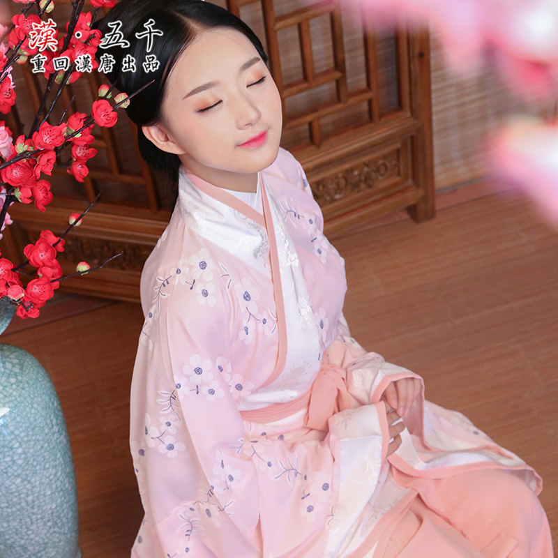 Back to the han and tang meiying original brand formal dress chinese clothing chinese clothing ladies garment cavatina non ancient spring and autumn dress