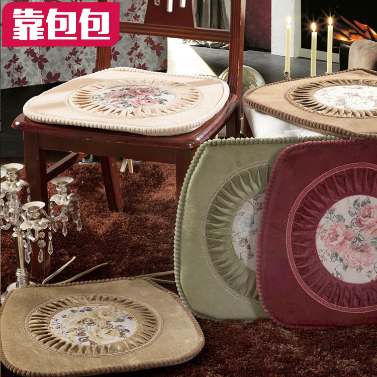 Bags by european upholstery fabric upholstery cushion cover thick cushion seat cushion dining chair cushion chinese suede