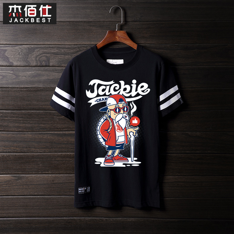 Bai jie shi 2016 tide brand new turtle fairy dragon ball short sleeve compassionate xl loose round neck t-shirt personalized
