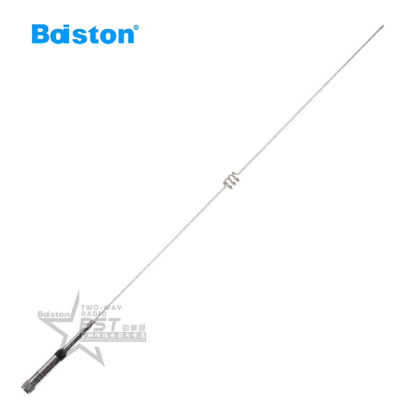Baiston talkie antenna car antenna dual band antenna 144/470 mhz 770HUV has a total length of 1 m