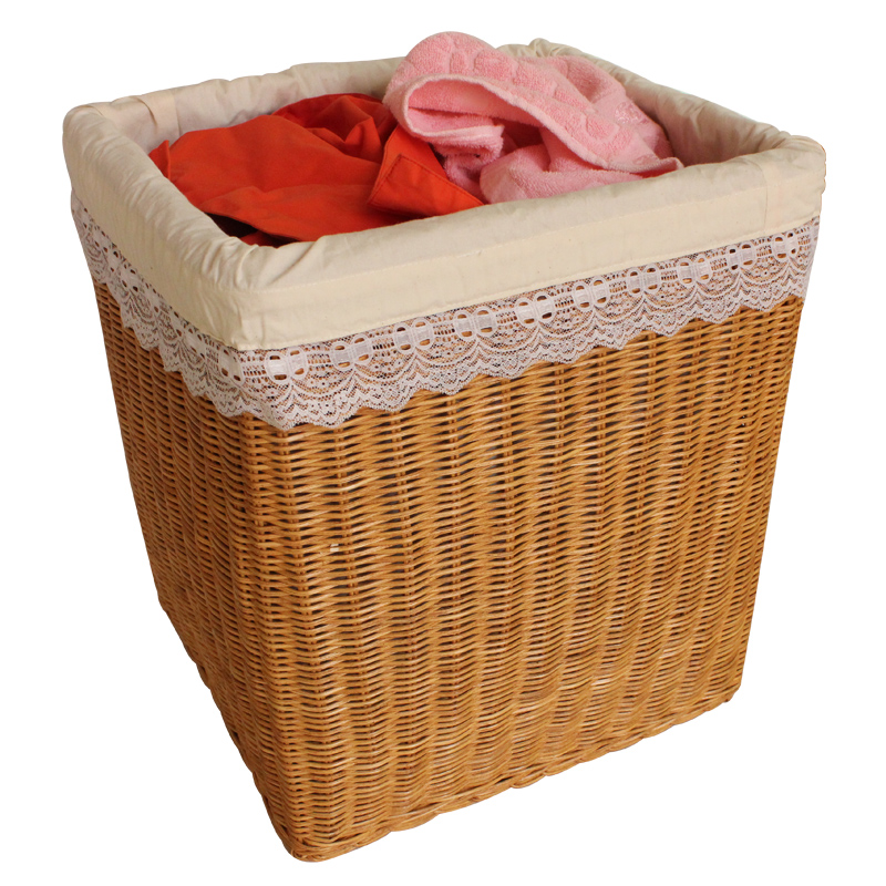 Bamboo and rattan weaving hotel towel basket of dirty clothes storage baskets laundry barrels laundry basket laundry basket of dirty clothes basket laundry basket fashion
