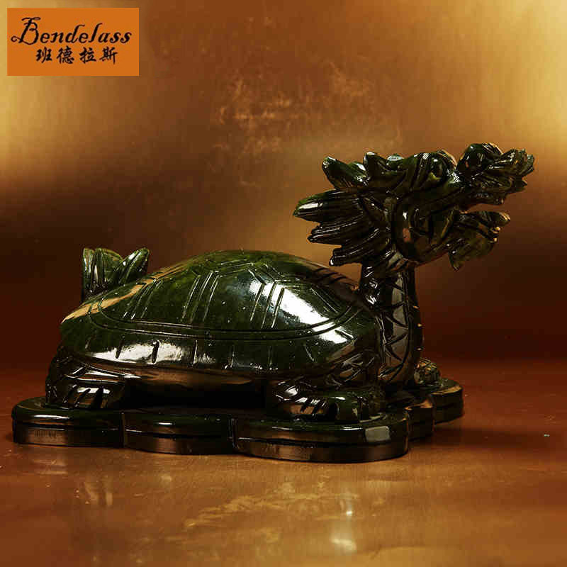 Banderas cai opening longevity turtle dragon turtle turtle leading south jade ornaments home office decorations