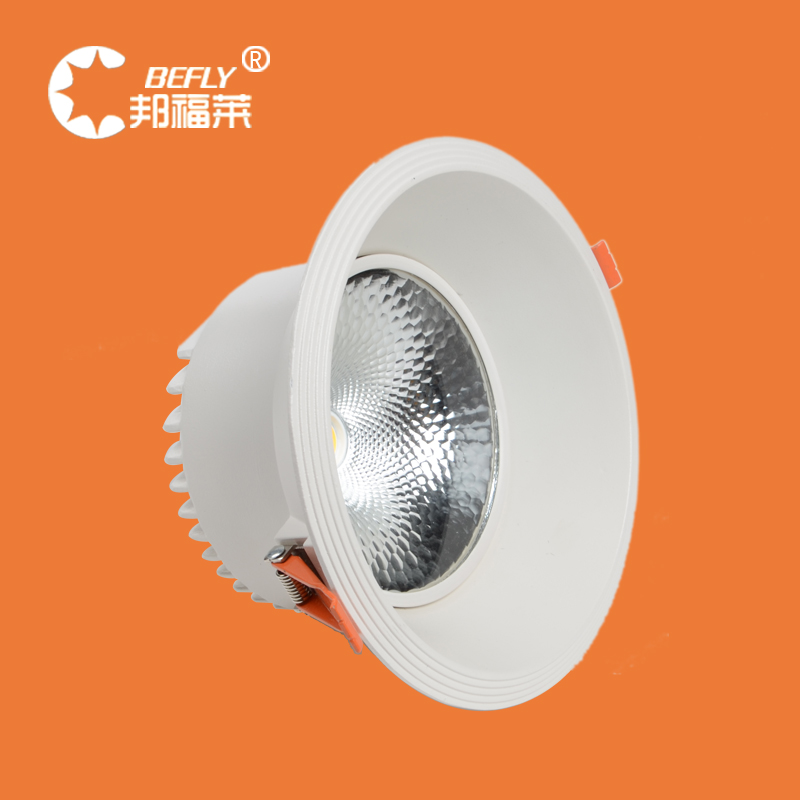 Bangfu lai 12/20/30 w cob led ceiling downlight backdrop lights mall clothing store hall lights