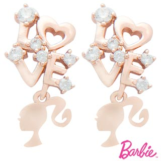 [Barbie] barbie barbie-love earrings payeasy official website direct mail