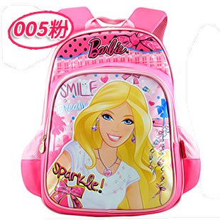 Barbie schoolbag schoolbag children's school bags for girls princess girls bag shoulder bag old grade