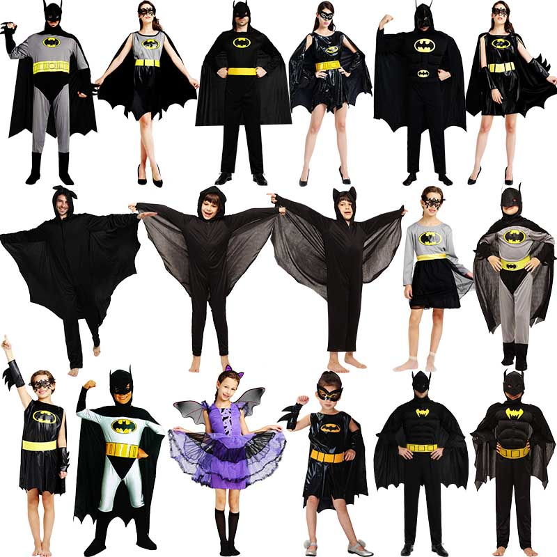 Batman halloween costume masquerade cosplay costume play costumes paternity performances out of clothes for adults
