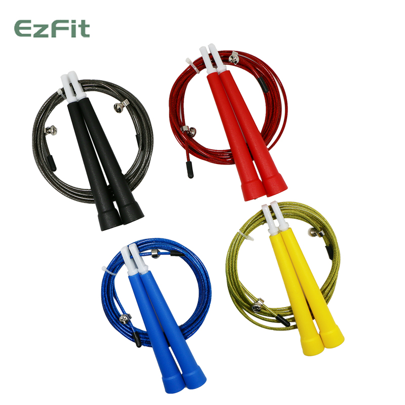 Bearing steel wire rope skipping adult fitness test students professional racing skipping rope skipping athletics competition