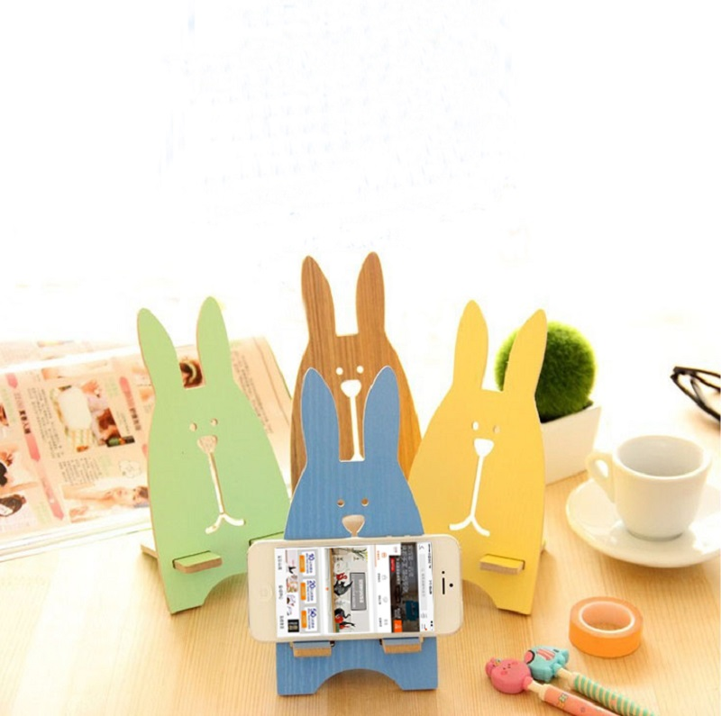 Behan us korean fashion creative cute rabbit mobile phone holder phone holder bracket apple phone holder decoration