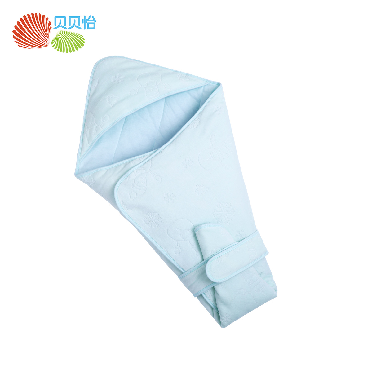 Beibei yi new autumn and winter warm velvet hold newborn babies peridium 161P236 baby supplies