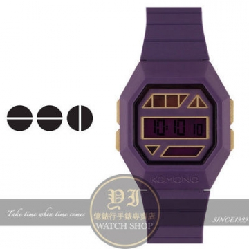 Belgian komono brand powergrid purple gold light tide k taiwan's official website direct mail import