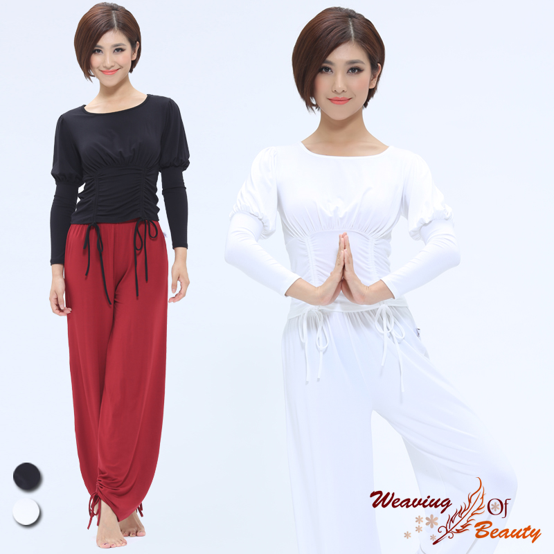 Biao spring 2016 spring and summer yoga clothes new female yoga clothes yoga fitness yoga clothes suit pants body
