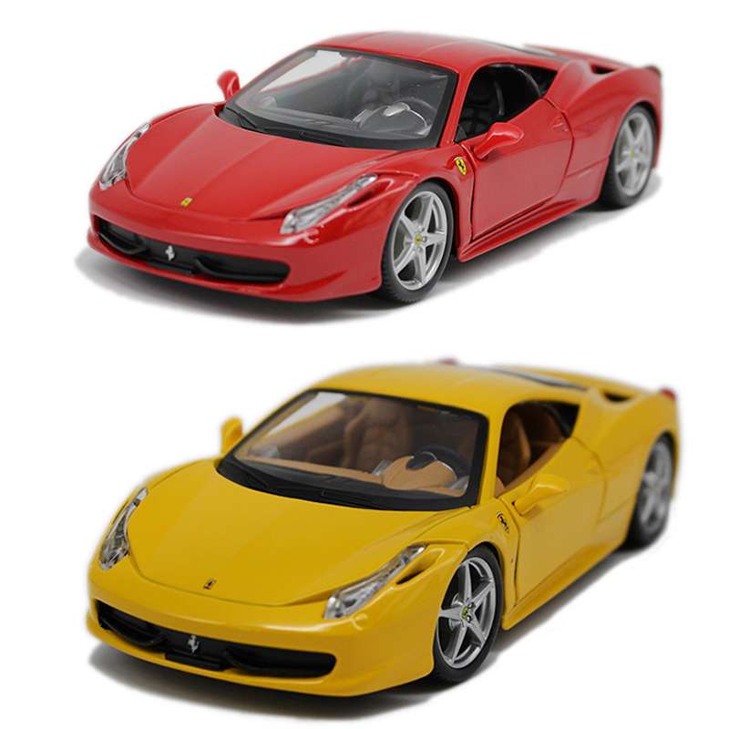 Bimei high/Bburago1: 24 ferrari ferrari 458 italia original simulation alloy car models