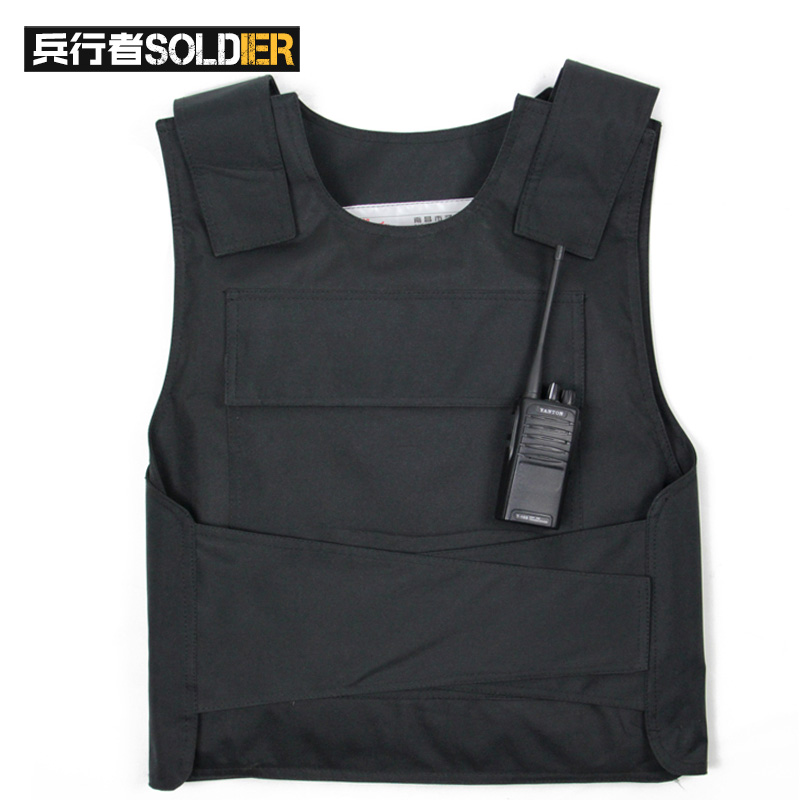 Bing walker cut clothing stab stab vest tactical vest tactical bulletproof anti body black camouflage vest