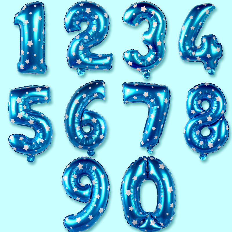 Birthday party party decoration wedding party annual meeting no. 18 inch color aluminum foil balloon figures