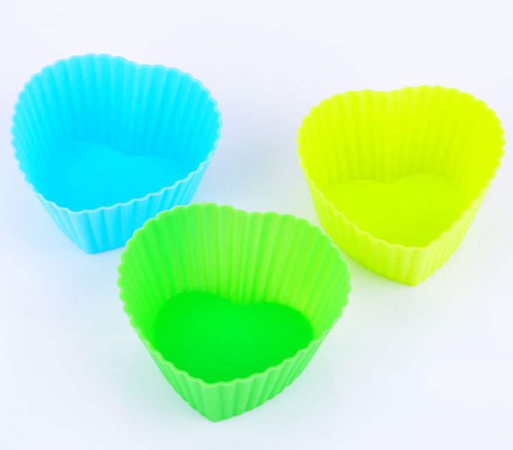 Biscuit mold silicone cake mold muffin cup jelly pudding cup soft silicone baking mold tart mold baking aids