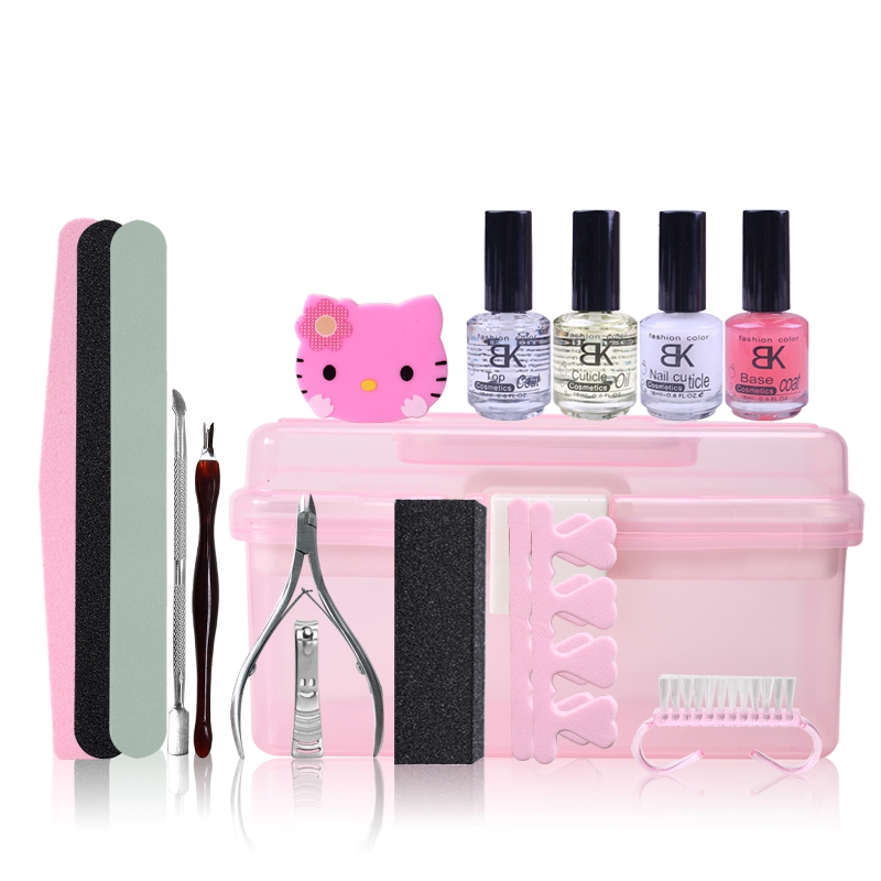 Bk flagship novice hand care nail polish nail tools supplies functional repair repair kit