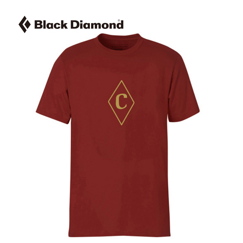 Black diamond black diamond bd m 's/s t-shirt tee men's postmark stamp c c egwz