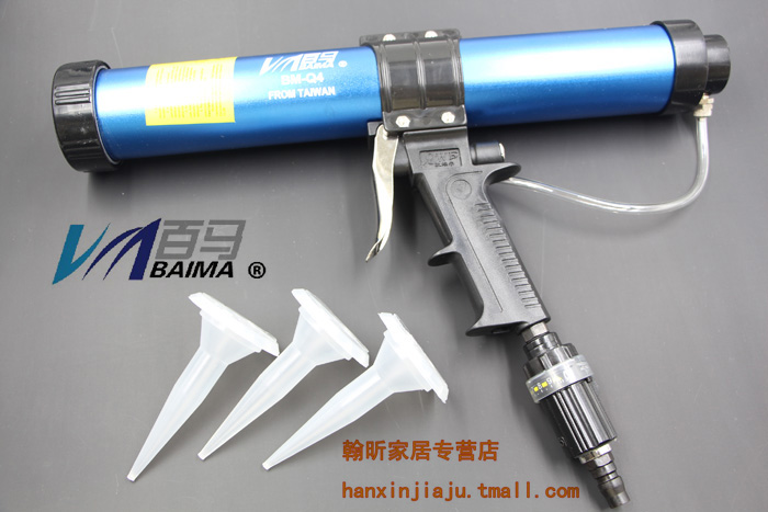 Blackmer BM-Q4 barreled soft ml pneumatic silicone gun glass/foam caulking gun/caulking gun adjustable Speed