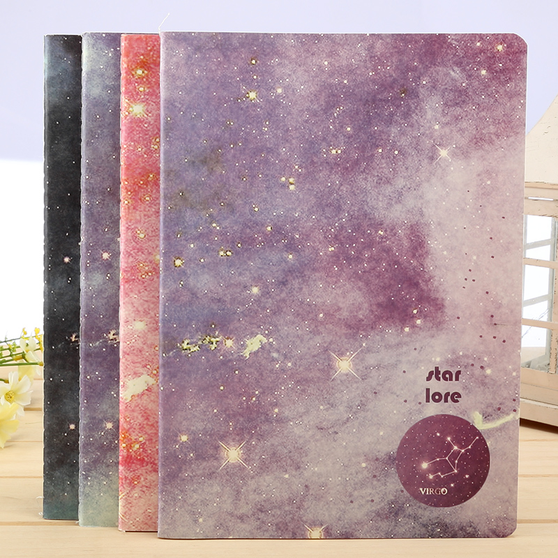 Bmdm roppongi/constellation legends diary notebook notebook notebook b5 soft copy creative korea star