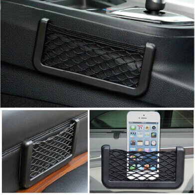 Bo group with a cell phone compartment net applicable lifan 620EV pure electric car car storage network placed phone debris box