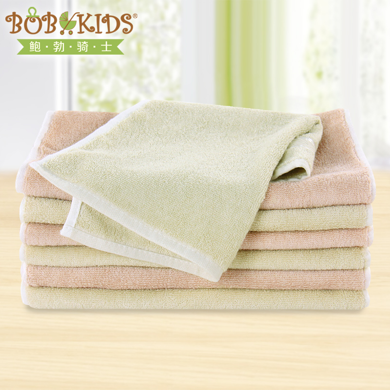 Bob knight organic cotton baby towel washcloth towel baby towel children towel soft wash face towel bibs small handkerchief