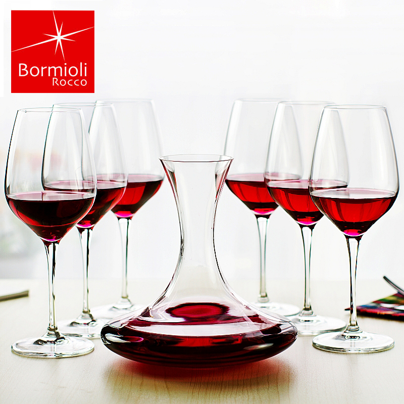 Bomi orly imported italian glass of red wine decanters suit european wine glass of wine glass of wine set