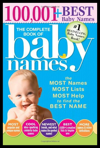 [Booking] the complete book of baby names: the most names,