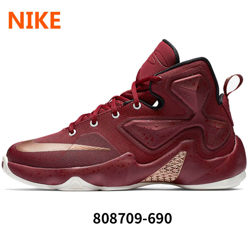 1cd05d3a0c2 Get Quotations · Boys 2016 spring new nike nike lebron 13 james lbj 13  basketball shoes 808709-690