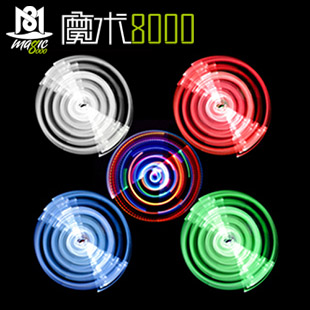 Bright lights dancing dancing stick light stick luminous flash magic 8000 magic wand magic stage magic props close shot