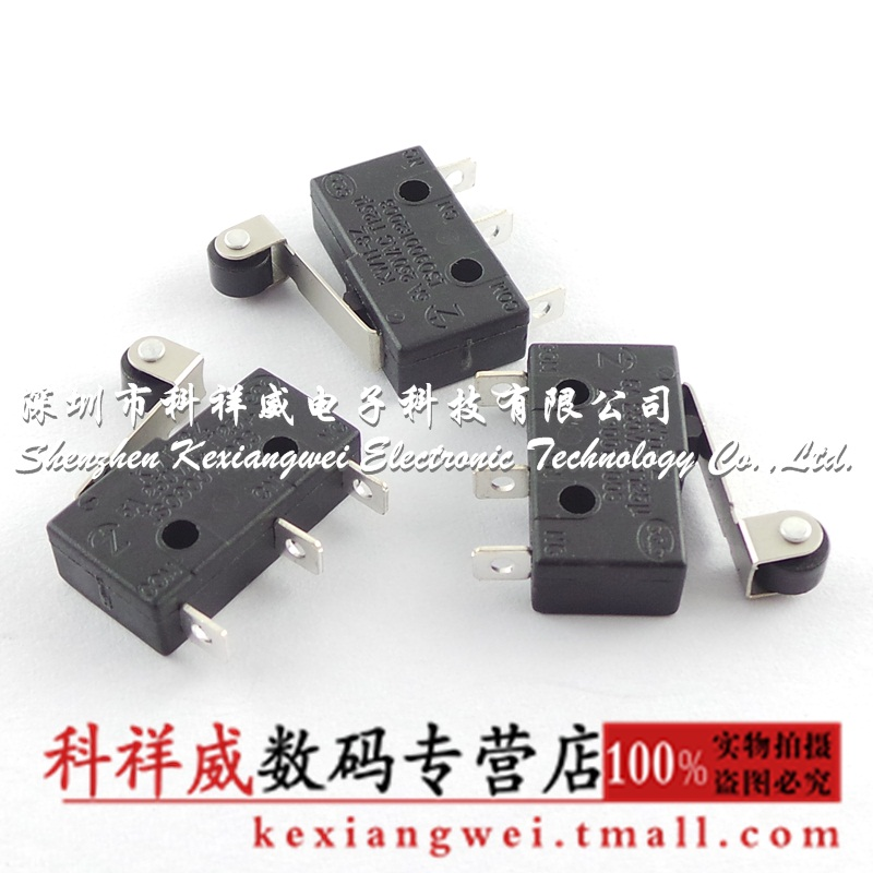 Brunswick mouse switch touch switch micro switch with roller (10 of the total amount) = 9.8 yuan