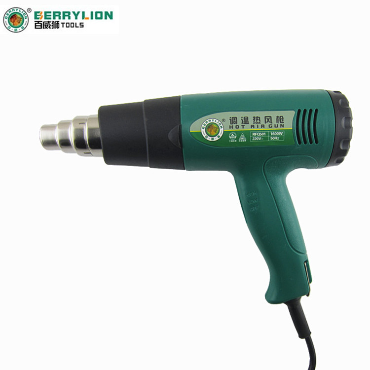Budweiser lion 9 files thermostat handheld hot air gun hot air gun 1600/2000 w can be high temperature