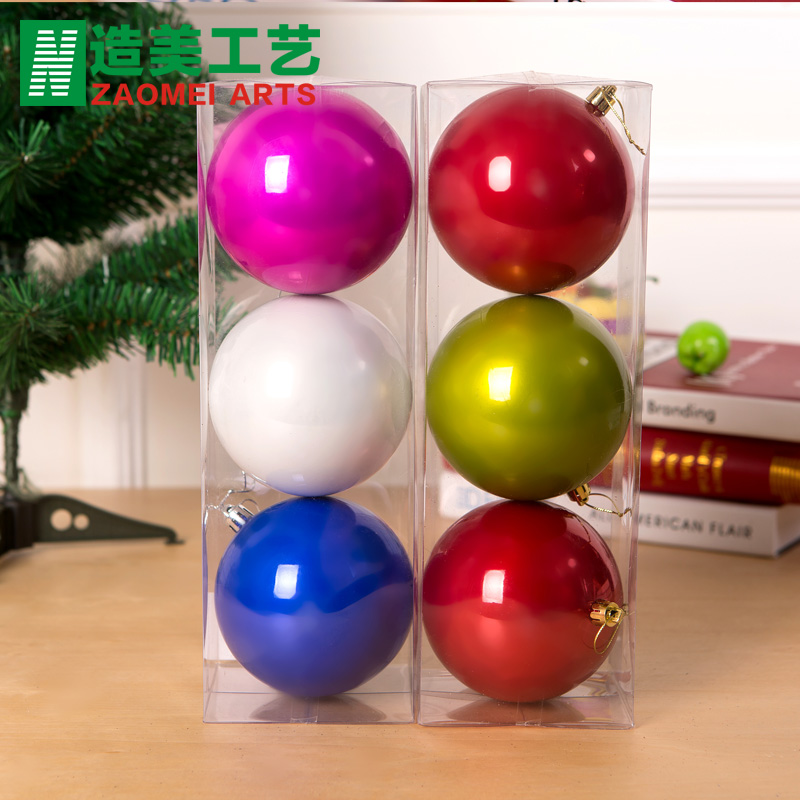 Built america 10cm christmas decoration ball light ball christmas decoration ball light ball christmas tree ornaments
