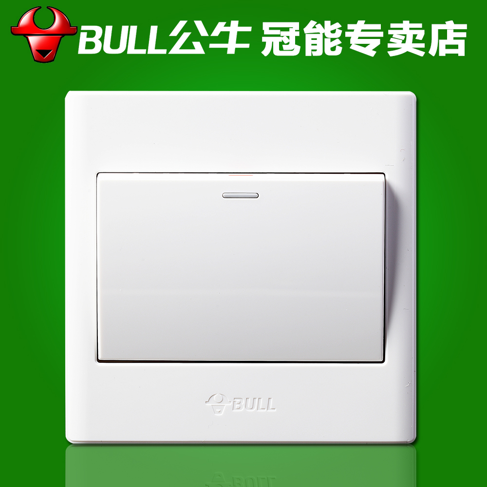 Bulls wall switch 86 type switch panel opened an open wall switch wall switch 1 to open