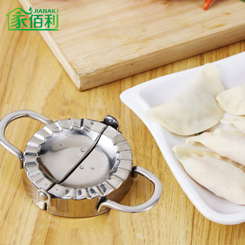 Burley home 304 stainless steel water dumplings dumplings dumpling mold pinch dumplings dumplings dumplings kitchen household manual