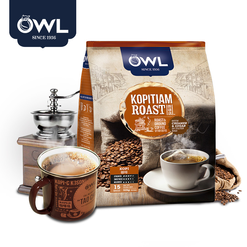 [Buy] out of two viet nam grinding series teabag import owl owl triple a traditional coffee 525 G
