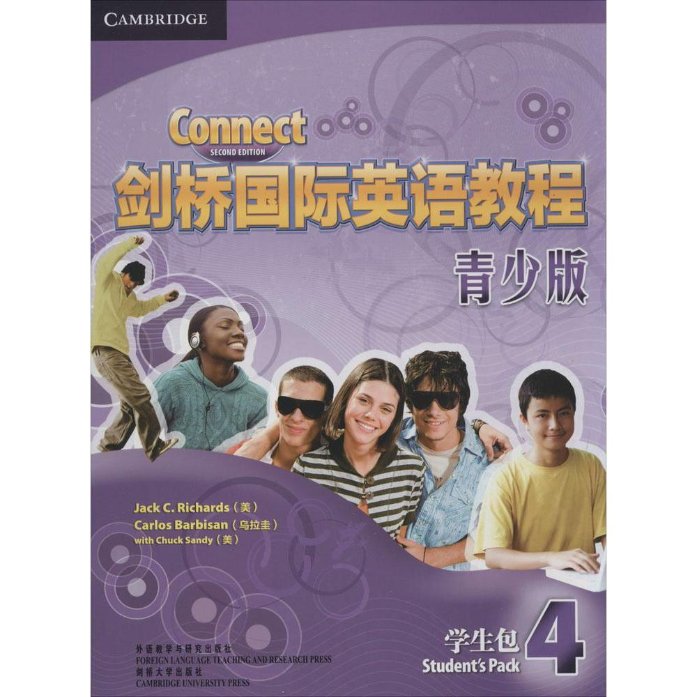 Cambridge international english course youth edition student book selling books foreign genuine