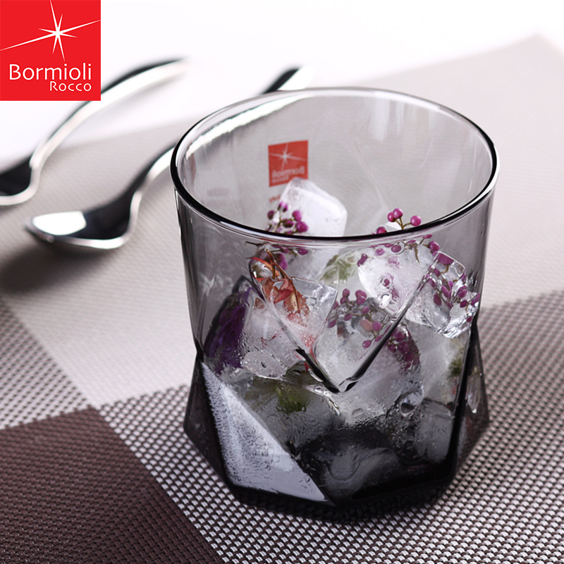 Camellia color personality heat transparent glass cup creative cup lemon juice cup juice cup cup home