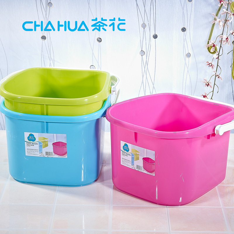Camellia plastic barrels feet massage foot tub thicken home with a portable bubble barrels full deep barrel foot bath footbath barrel