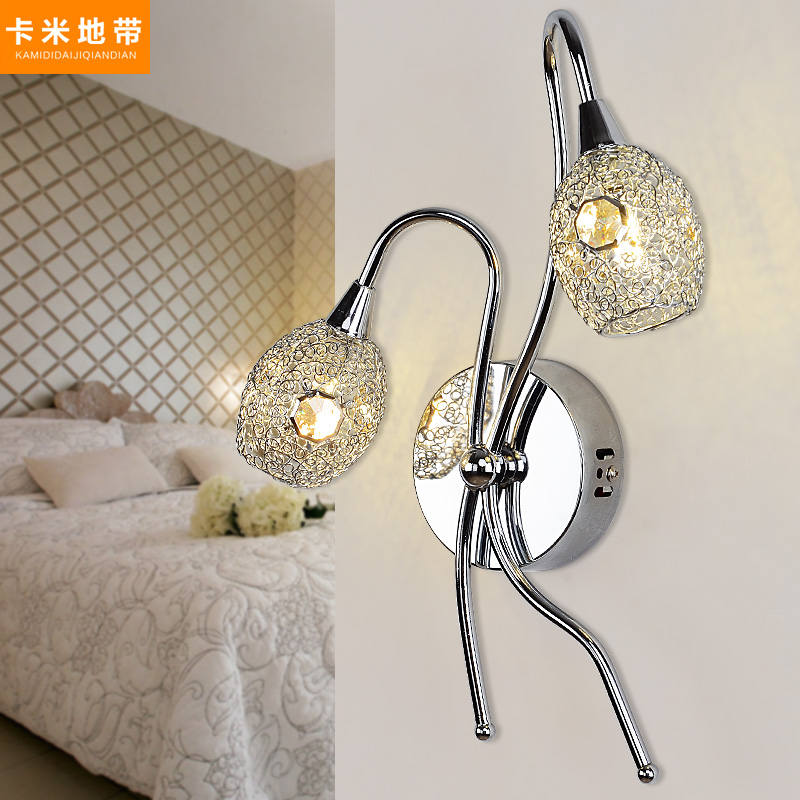 Camminanti strip led creative modern minimalist wall lamp wall lamp crystal wall lamp bedroom bedside lamp living room hallway stairs