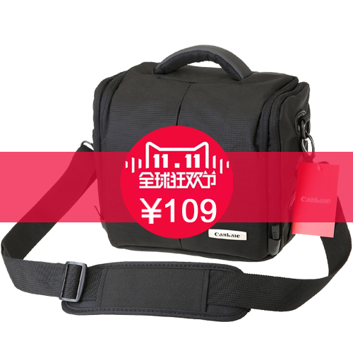 Canbale camera bag canon nikon slr camera bag camera bag small portable shoulder bag diagonal package 760D750D