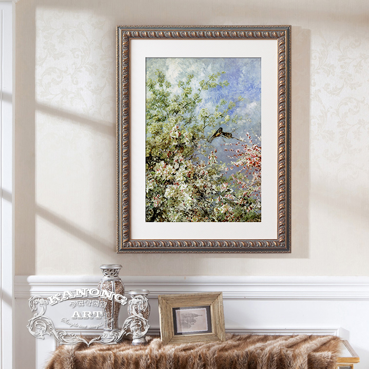Canon american decorative painting the living room entrance paintings framed painting the world famous paintings monet wood gilded box